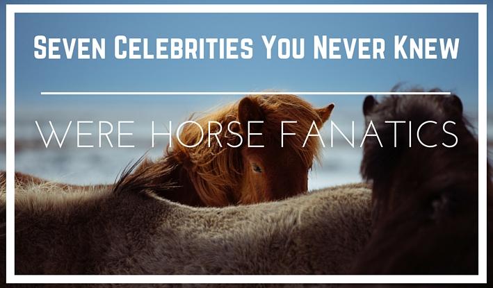 celeb horse banner