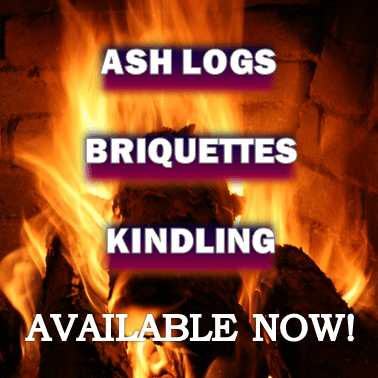 Firewood, Briquettes and Kindling Available Now!
