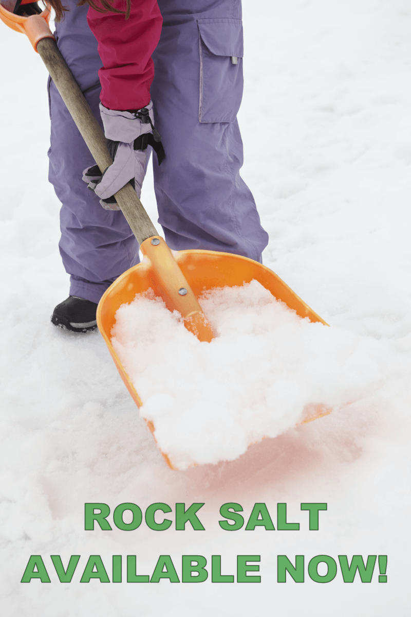 Winter Rock Salt