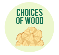 different choices of firewood
