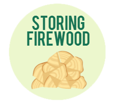 where to store firewood